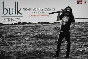 Tony Tomasicchio is the new Bulk Strings Endorser
