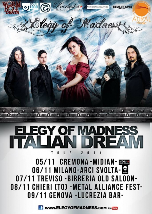 Elegy Of Madness Italian Tour