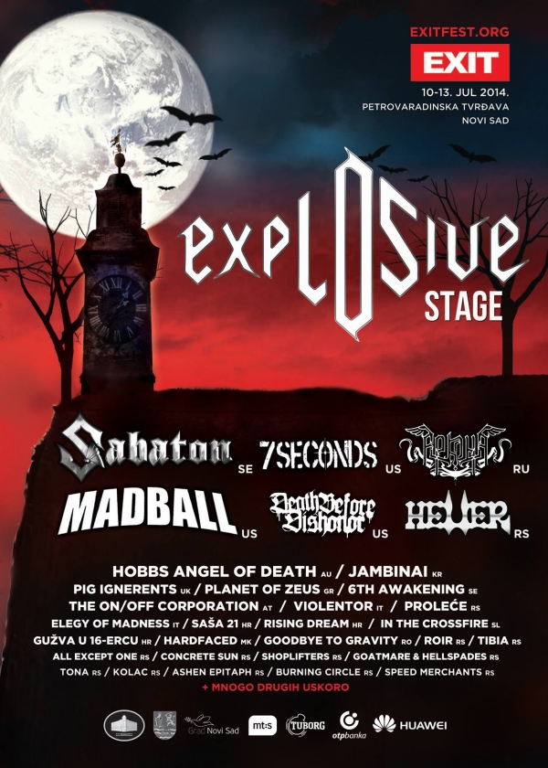 Elegy Of Madness Joins Exit Fest 2014