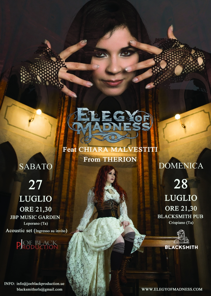 Elegy of Madness live Feat. Chiara Malvestiti (Therion)