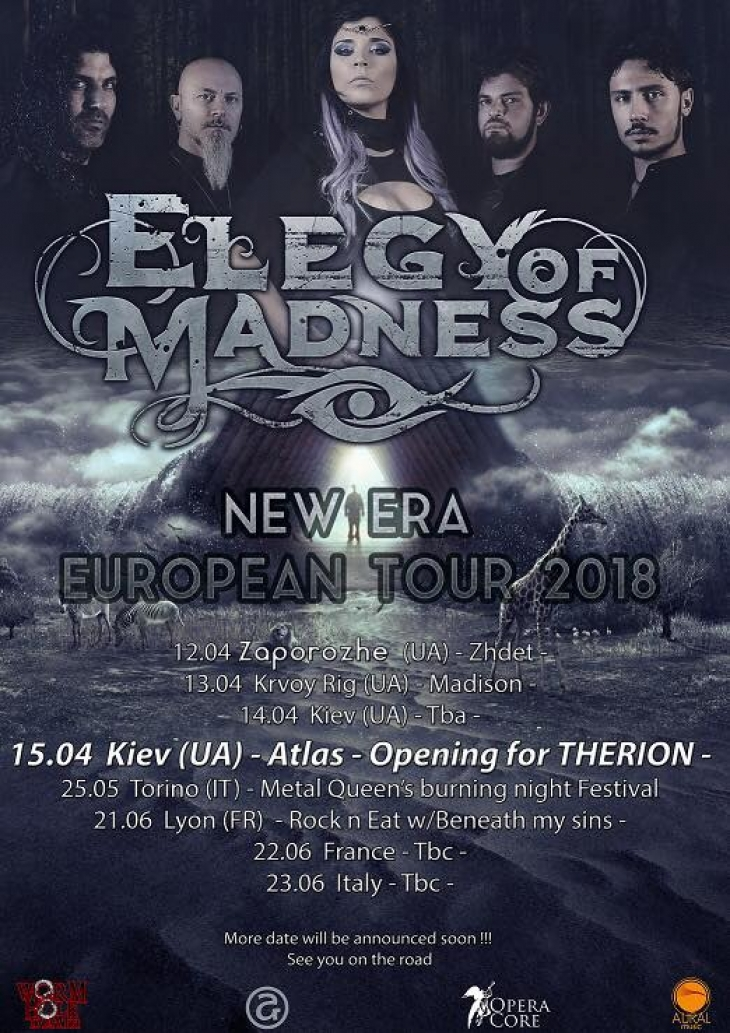 Elegy Of Madness Release A New Lyric Video And Announce European Tour 2018
