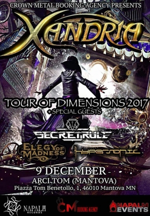 BREAKING NEWS : Elegy of Madness w/XANDRIA