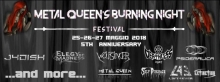 Metal Queen's Burning NIght